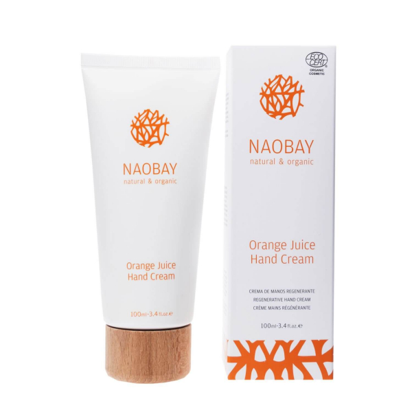 Crema de maini BIO hidratanta si revitalizanta cu extract de portocale Orange Juice Naobay 100 ml [1]