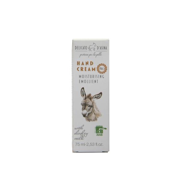 Crema de maini cu lapte de magarita BIO La Dispensa 75 ml 2