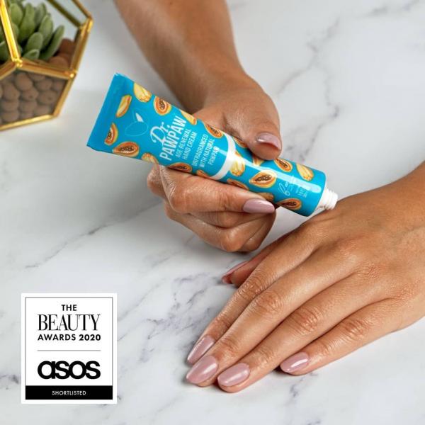 Crema de maini regeneranta fara parfum cu papaya, DrPawPaw, 30 ml 1