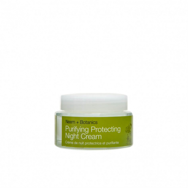 Crema de noapte protectiva cu ulei de neem  pentru ten gras Purifying   Urban Veda 50 ml 1