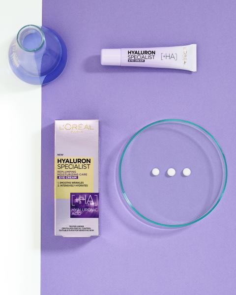 Crema de ochi antirid hidratanta L'Oreal Paris Hyaluron Specialist, 15 ml 9