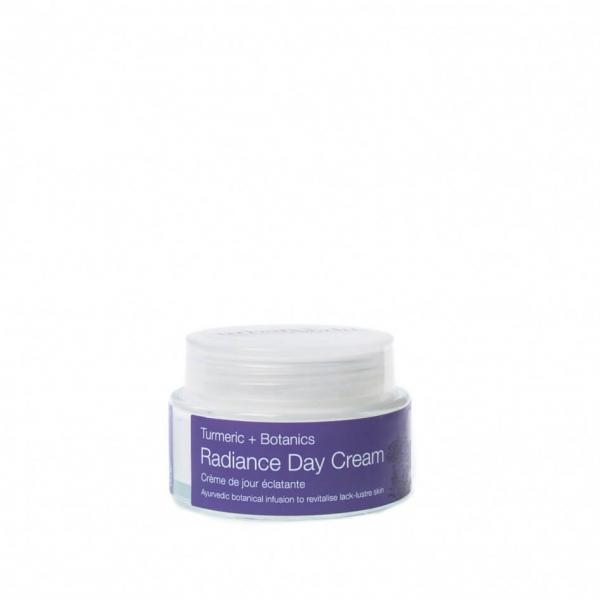 Crema de zi nutritiva cu extract de turmeric organic   ten uscat Radiance   Urban Veda 50 ml 0