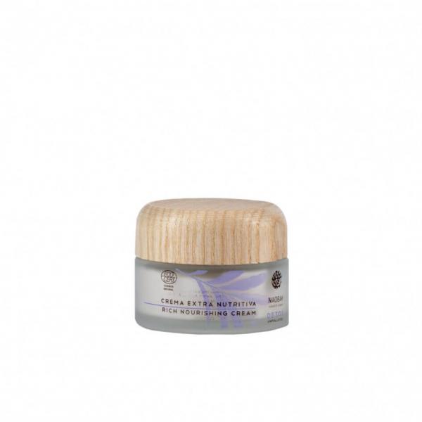 Crema extra nutritiva Detox Naobay 50ml 0