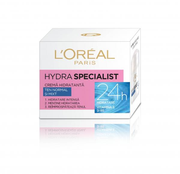 Crema hidratanta de fata Hydra Specialist, pentru ten normal si mixt [0]