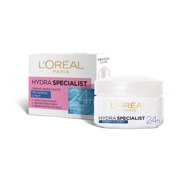 Crema hidratanta de fata Hydra Specialist, pentru ten normal si mixt [2]