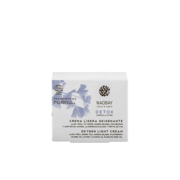 Crema oxigenanta light Detox Naobay 50ml [1]
