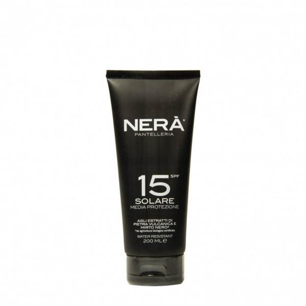 Crema pentru protectie solara medium SPF15 Nera 200 ml 0