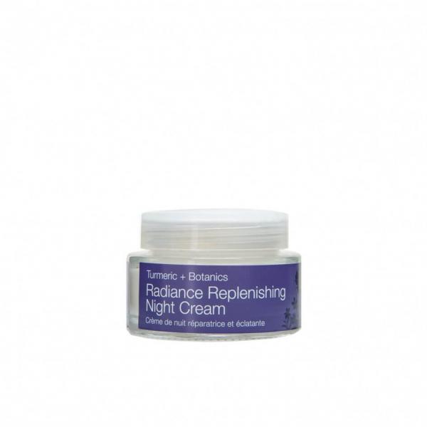 Crema puternic hidratanta de noapte cu extract de turmeric   ten uscat Radiance   Urban Veda 50 ml 0