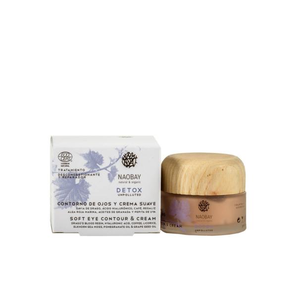 Crema soft & contur de ochi Detox Naobay 30ml [0]