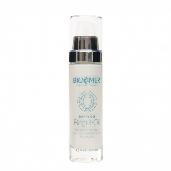 Crema tratament cu ulei de Moringa si acid hialuronic Regul Oil Marine Cell   Bio Mer 50 ml 0