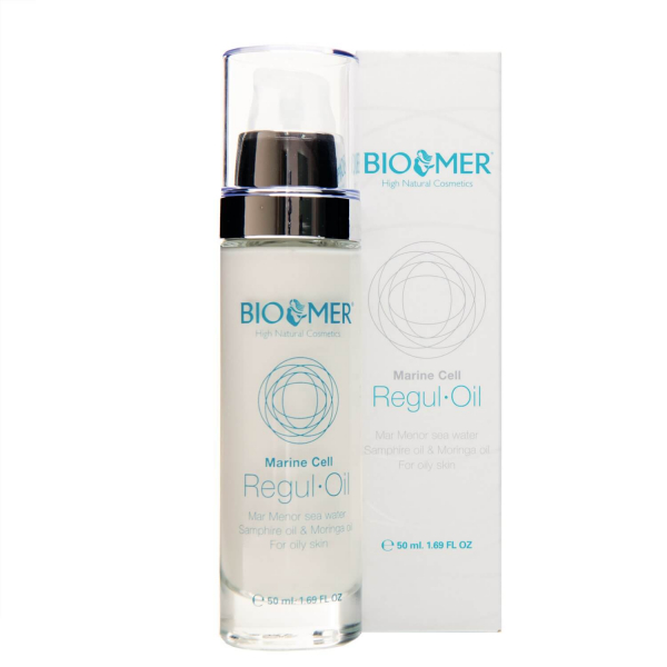 Crema tratament cu ulei de Moringa si acid hialuronic Regul Oil Marine Cell   Bio Mer 50 ml 1
