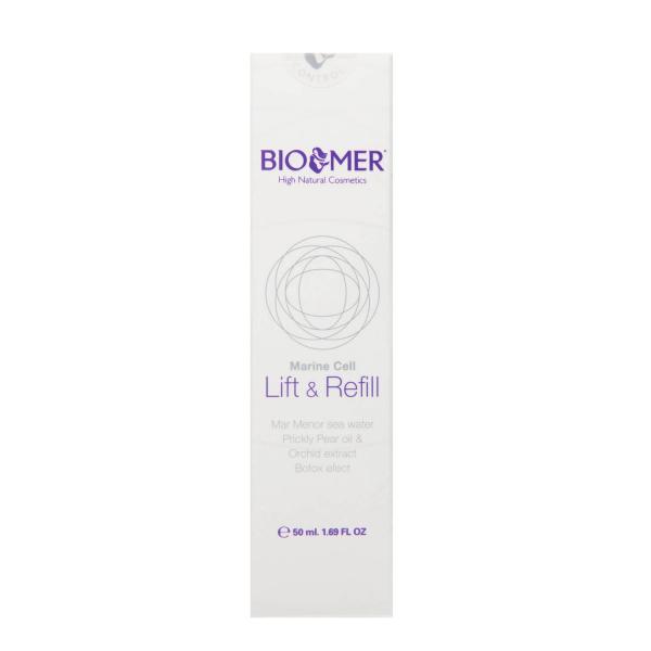 Crema tratament pentru tenul matur cu ulei de cactus si extract de orhidee Lift&Refill   Bio Mer 50 ml 1