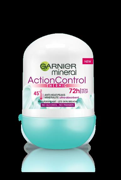 Deodorant antiperspirant Roll on Garnier Action Control Thermic pentru femei 50 ml 0