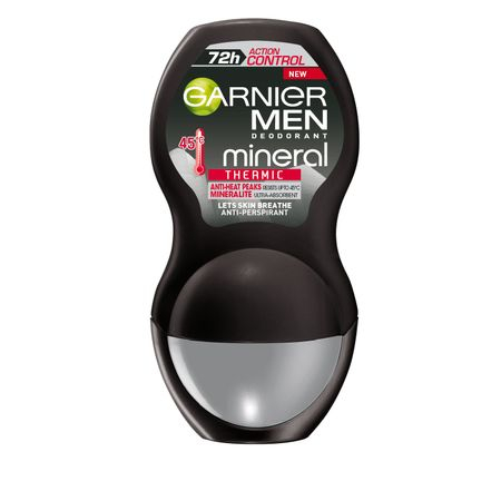 Deodorant antiperspirant Roll on Garnier Men Action Control Thermic pentru barbati 50 ml 0