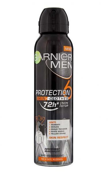 Deodorant antiperspirant spray Garnier Mineral Protection 6, pentru barbati 150ml 0