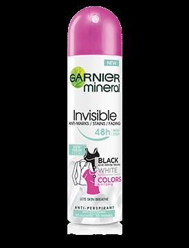 Deodorant Garnier Black White Colors Fresh, Spray pentru femei 50ml [0]