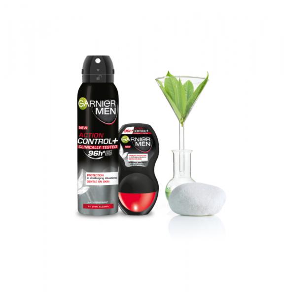 Deodorant Garnier Clinically Tested spray pentru barbati, 150 ml 1
