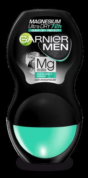 Deodorant Garnier Magnesium Ultra Dry roll on pentru barbati, 50 ml [0]
