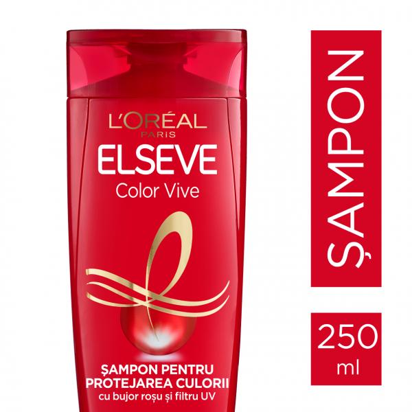 Set 3x Sampon pentru protejarea culorii Elseve Color Vive, 250 ml [1]