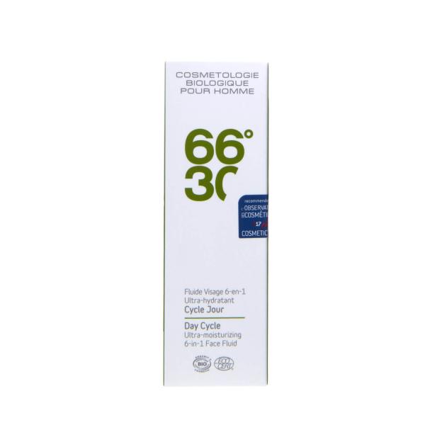 Emulsie 66°30 6in1 BIO, ultra hidratanta, pentru barbati, 15 ml 1