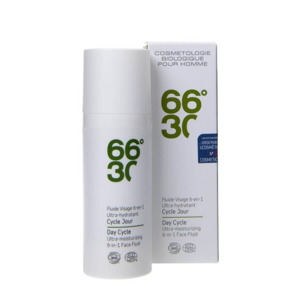 Emulsie 66°30 6in1 BIO, ultra hidratanta, pentru barbati, 15 ml 2