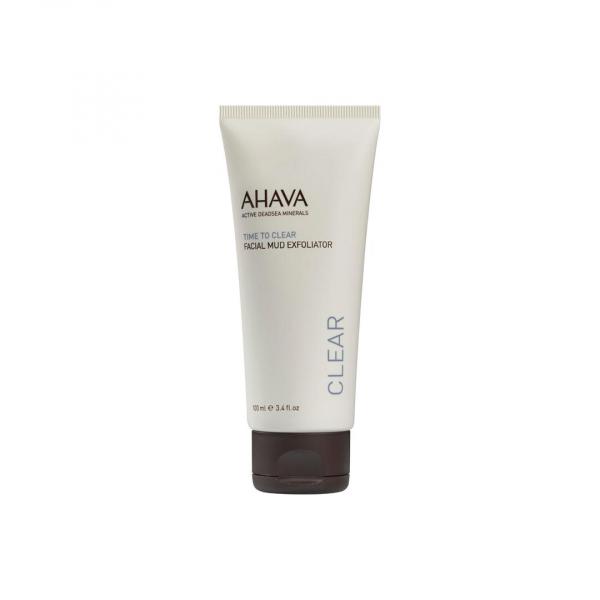 Exfoliant facial cu namol, Ahava, 100 ml 0