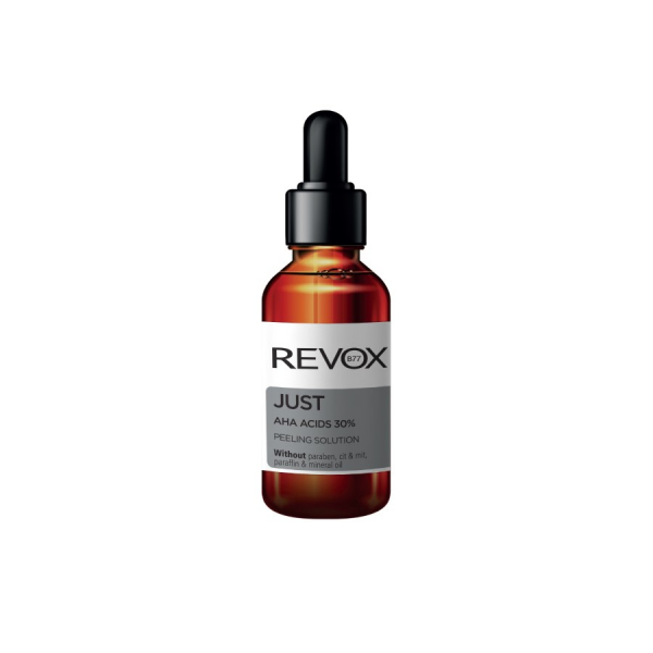 Exfoliant fata Revox AHA Acid  pentru un ten mai suplu, neted, luminos, 30ml [0]