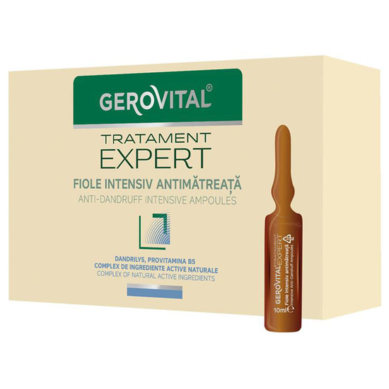 Fiole Gerovital Tratament Expert intensiv antimatreata, 10 buc x 10 ml [0]
