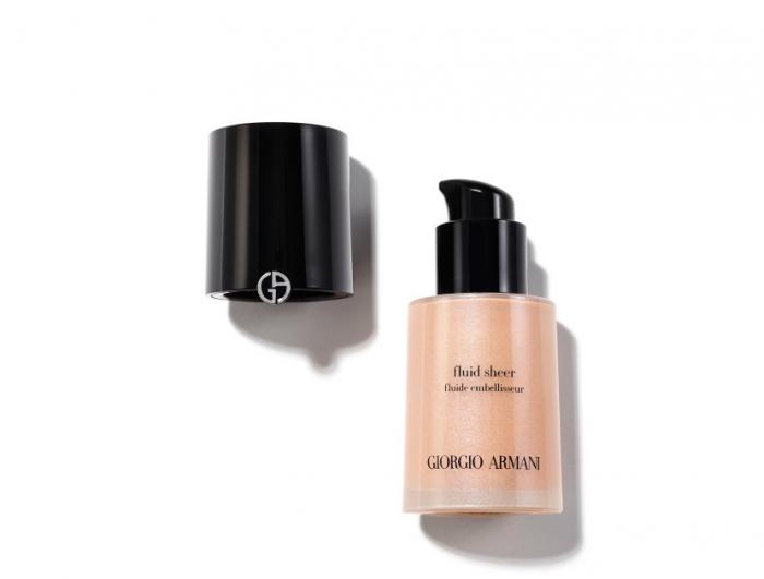Fond de ten  Giorgio Armani Fluid Sheer, Femei, No. 2, 30 ml [0]