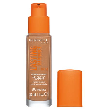 Fond de ten Rimmel Lasting Radiance, 303 True Nude, 30 ml 1