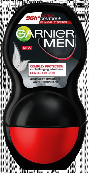 Garnier Mineral Action Control Clinically Tested Deodorant antiperspirant roll-on pentru barbati, 50 ml 0