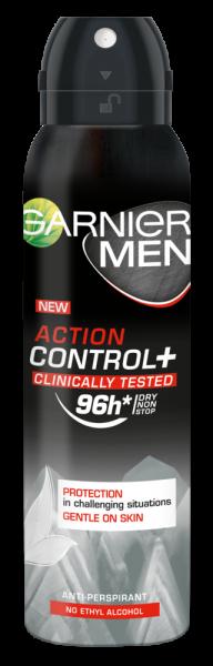 Garnier Mineral Action Control Clinically Tested Deodorant antiperspirant spray pentru barbati, 150 ml [0]