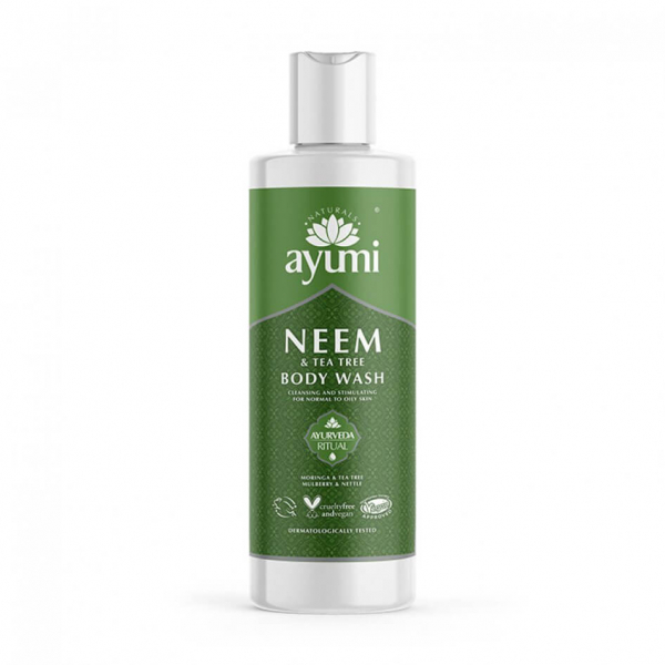 Gel de dus cu Neem & Tea Tree Ayumi 250 ml 0