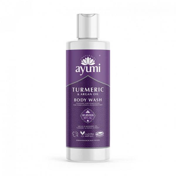 Gel de dus cu Turmeric & Ulei de Argan Ayumi 250 ml [0]
