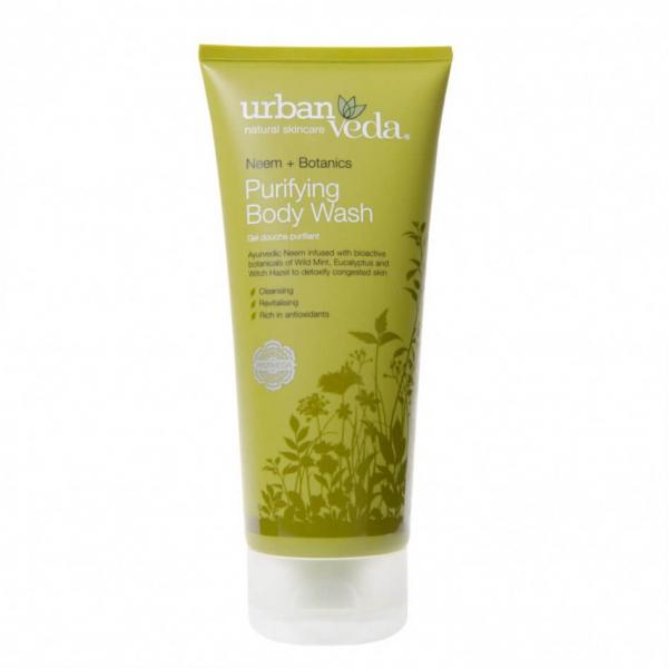 Gel de dus cu ulei de neem organic Purifying Urban Veda 200 ml [0]
