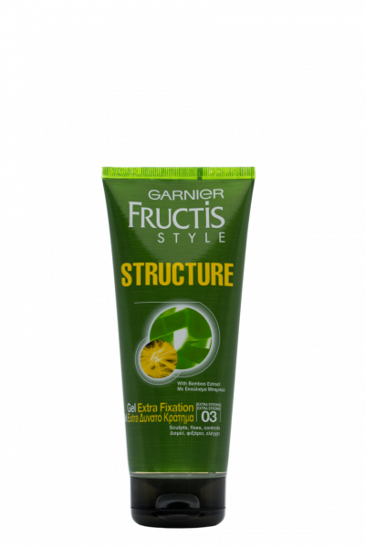 Gel de par Garnier Fructis Style Structure pentru fixare medie, 200 ml 0