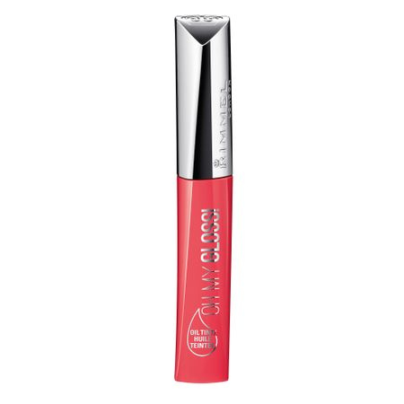 Gloss de buze Rimmel London  Oh My Gloss! Oil Tint, 400 Contemporary Coral, 6.5 g 0