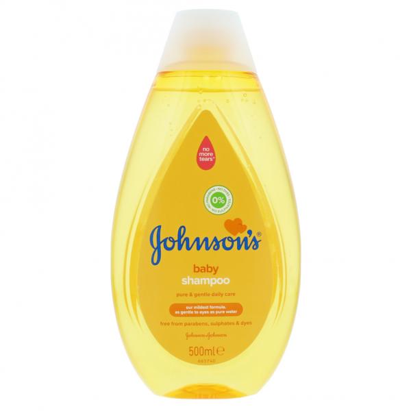 sampon pentru copii cu o textura usoara Johnsons's® Wash and Bath, 500ml [0]