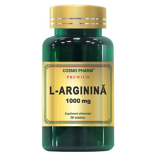L-Arginina 1000 Mg, Cosmo Pharm, 30 tablete 0