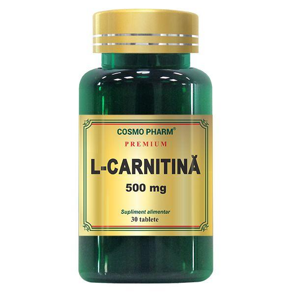 L- Carnitina 500 mg, Cosmo Pharm, 30 tablete 0