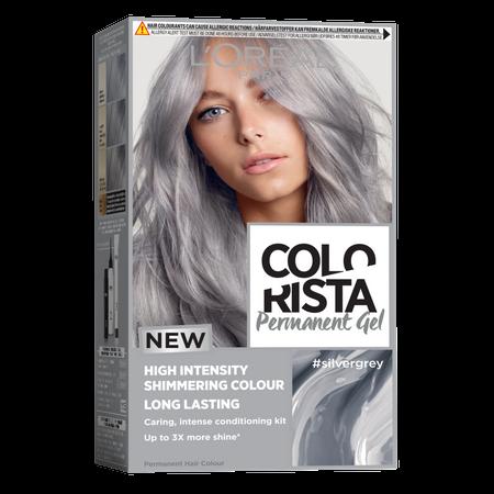 Colorista Vopsea gel permanenta 204 ml, nuanta SILVER GREY [0]