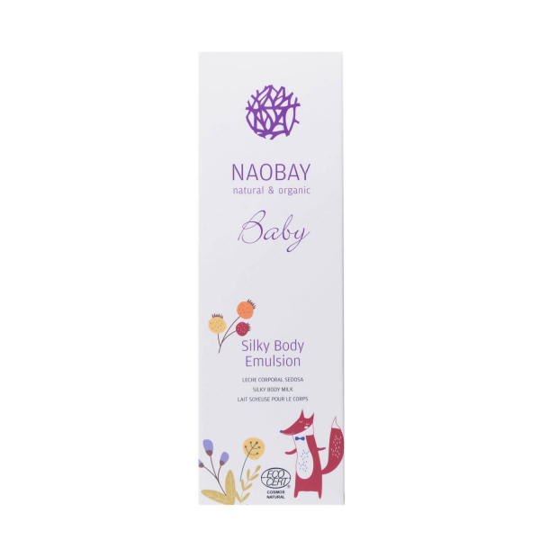 Lotiune de corp BIO cu uleiuri organice si extract de musetel pentru copii Naobay 200 ml [2]