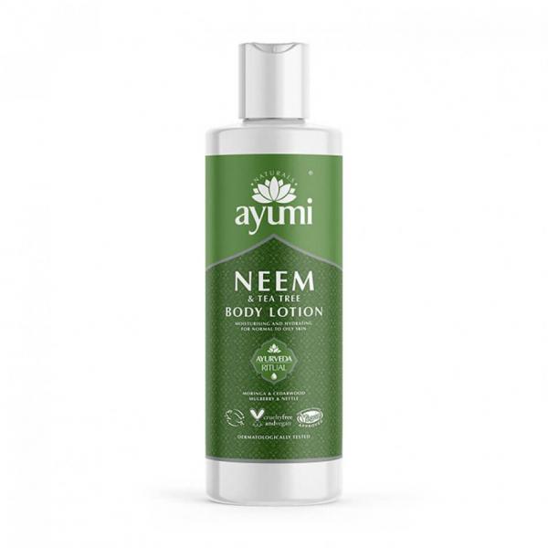 SET 1+1 GRATUIT Lotiune de corp cu Neem & Tea Tree Ayumi 250 ml 0
