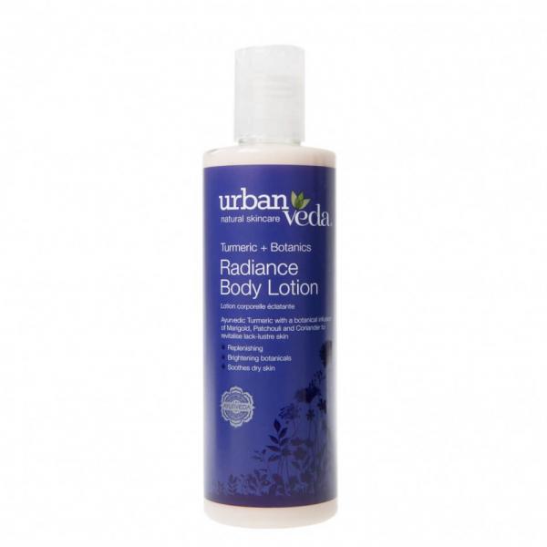Lotiune de corp hidratanta cu extract de turmeric organic Radiance Urban Veda 250 ml [0]