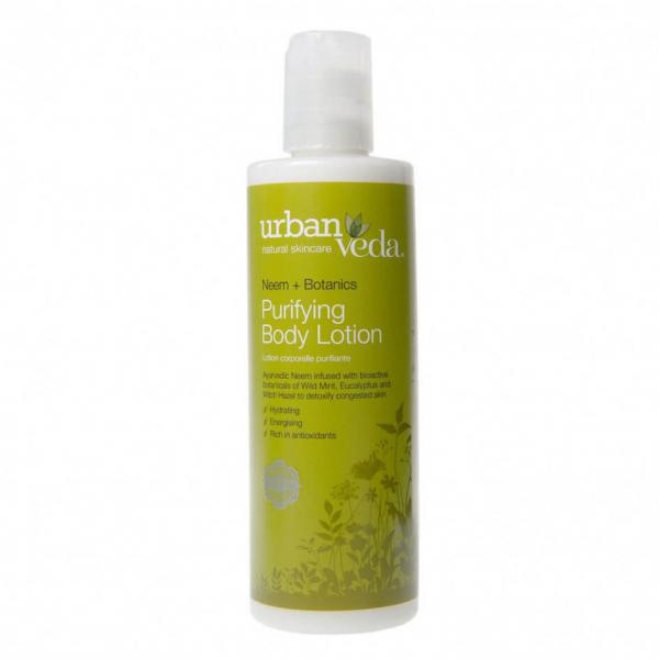 Lotiune de corp revitalizanta cu ulei de neem organic Purifying Urban Veda 250 ml 0