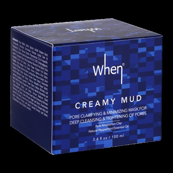 Masca coreeana WHEN, detoxifianta, pentru minimizarea porilor, 100 ml 2