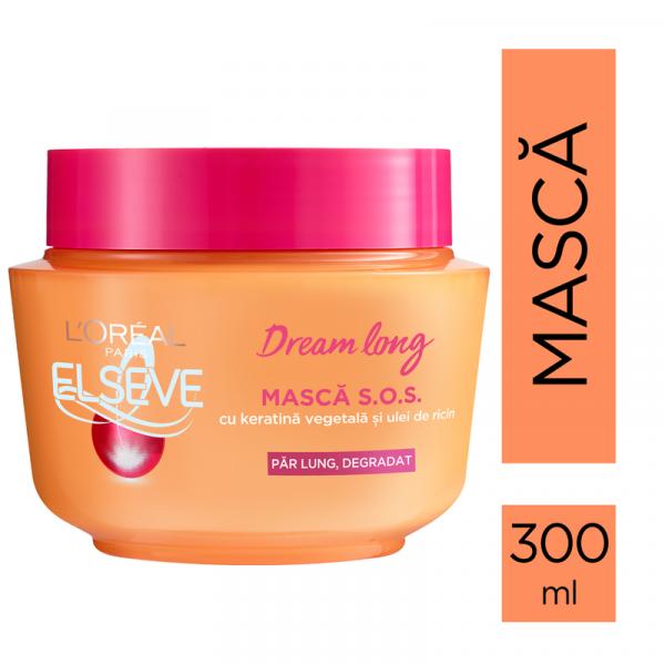 Masca pentru par lung S.O.S.Dream Long, degradat, 300 ml 1