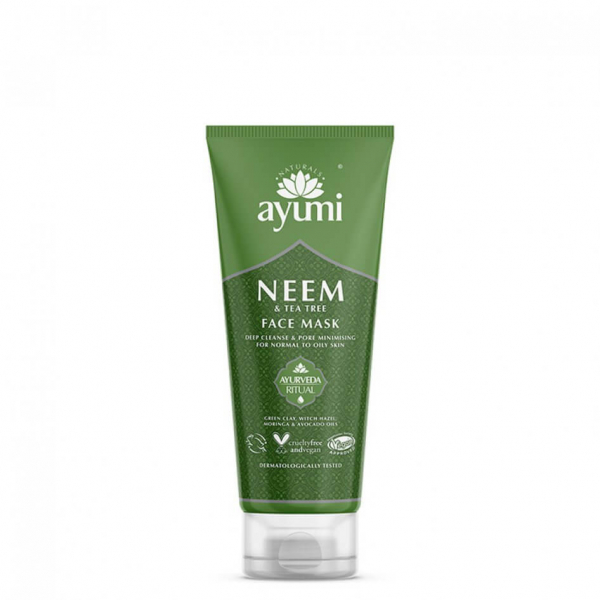 Masca faciala cu Neem & Tea Tree Ayumi 100 ml 0