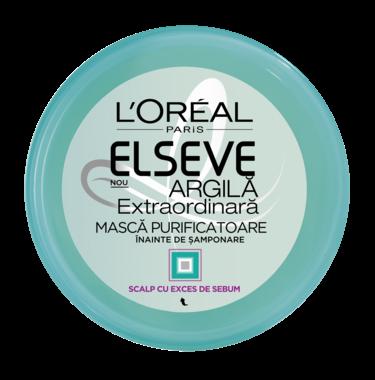 Masca pre-samponare pentru par normal spre gras Elseve Argila - 150 ml [0]