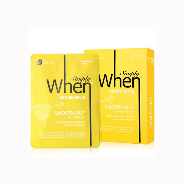 Masca coreeana faciala servetel WHEN, hidratanta si revigoranta, pentru ten obosit, 23 ml 2